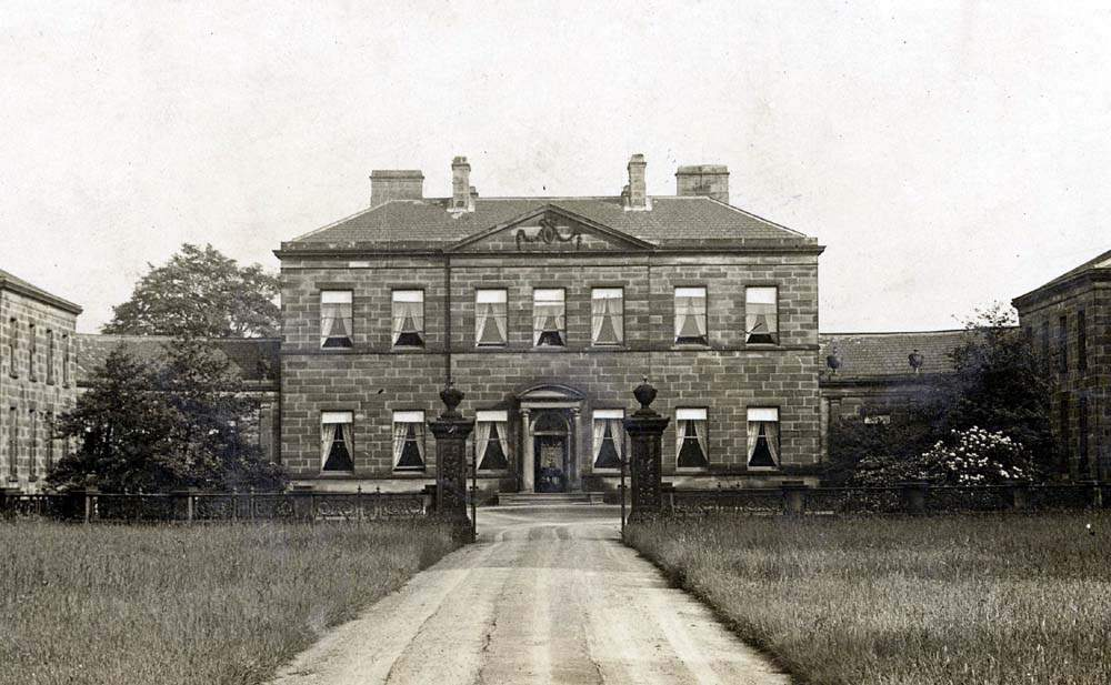 The wealthy Walker family lived at Crow Nest in Lightcliffe