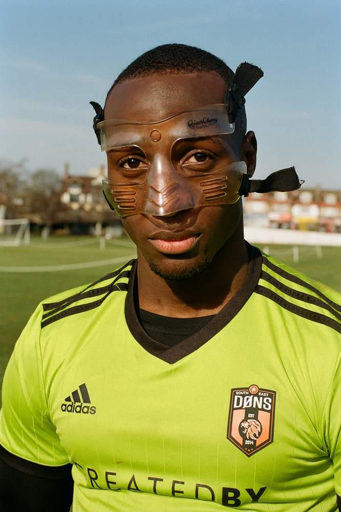 Salvyn Kisitu, SE Dons defender and vice-captain