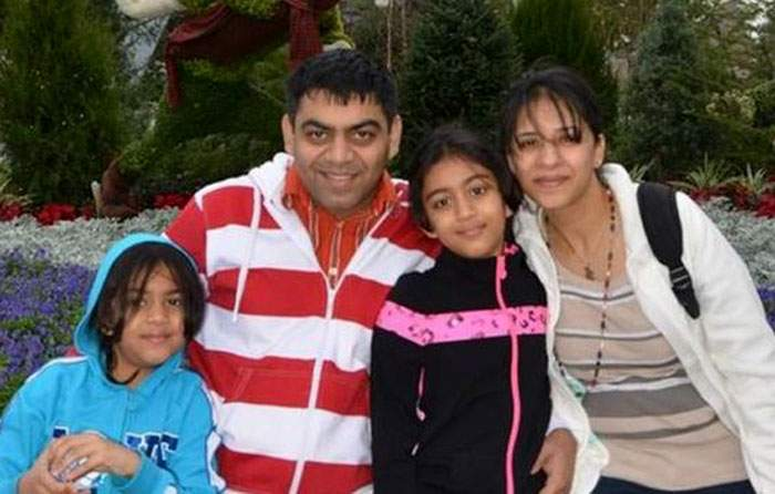 Kosha Vaidya and her husband Prerit Dixit were travelling with their daughters, Ashka and Anushka