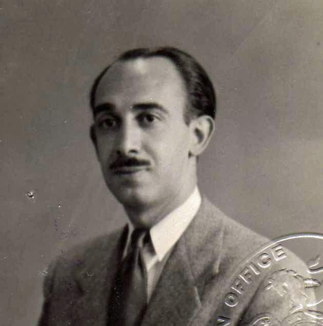 Harry Assael, Alex's grandfather