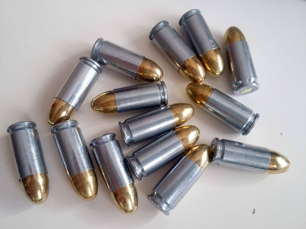 Balas calibre 9 mm