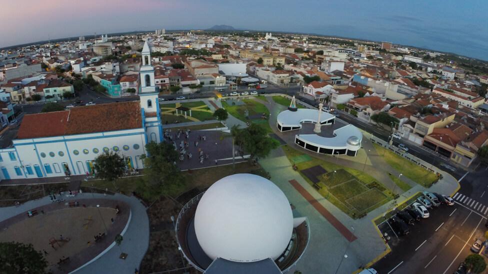 No início dos anos 2000 a cidade de Sobral ganhou um museu dedicado ao eclipse, um planetário e monumentos que relembram o episódio. Foto: Prefeitura de Sobral