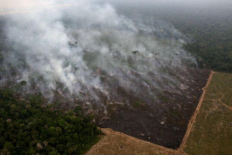 Incendio en Porto Velho, Brasil, en 17 de septiembre de 2019