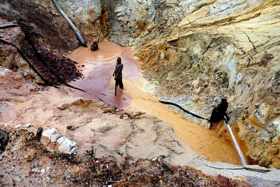 Mina de ouro na Venezuela