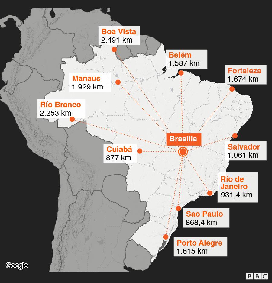La Moderna Y Monumental Ciudad De América Latina Creada Para Una élite Hace 60 Años Que No Funcionó Como Se Había Imaginado Bbc News Mundo