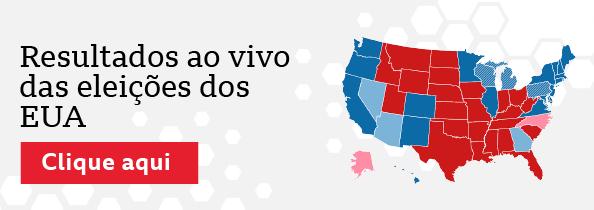 Resultados ao vivo das eleições dos EUA. Clique aqui