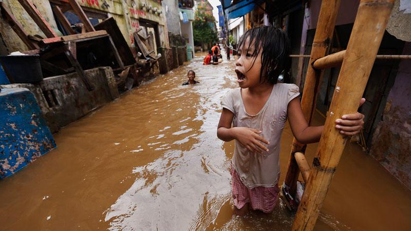 """""""Penurunan tanah dan banjir punya hubungan yang sangat erat."""""""