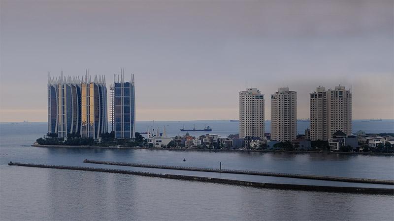 Asosiasi pengembang perumahan: 'selama bisa jualan, laku, pengembang akan terus membangun di tepi laut.'