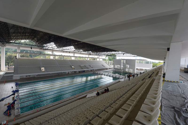 Gelora Bung Karno Aquatic Center