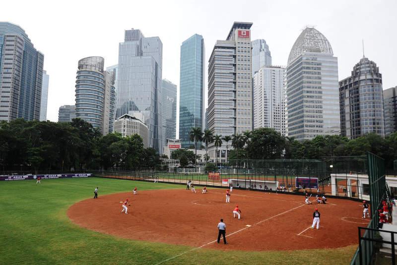 Lapangan Sofbol Gelora Bung Karno