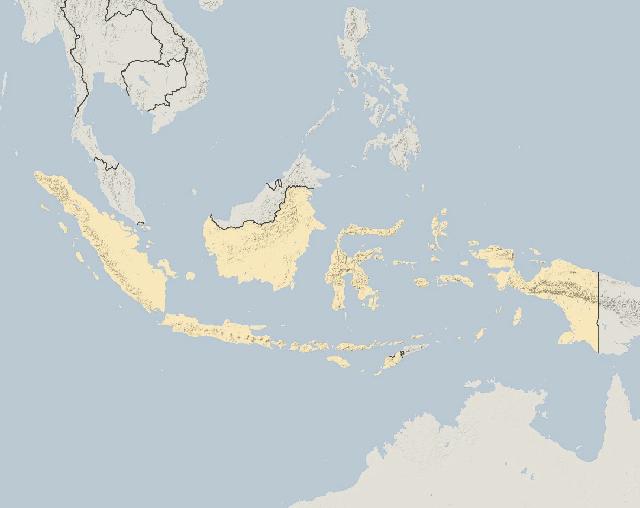Peta menunjukkan titik-titik api di seluruh Indonesia dari Januari 2018 hingga 15 September 2019. Terlihat bahwa jumlah titik api pada bulan September 2019 sangat tinggi dan sebagian besar terjadi di pulau Kalimantan.
