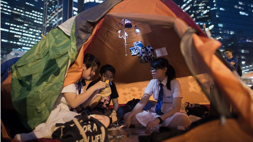 香港,2014年