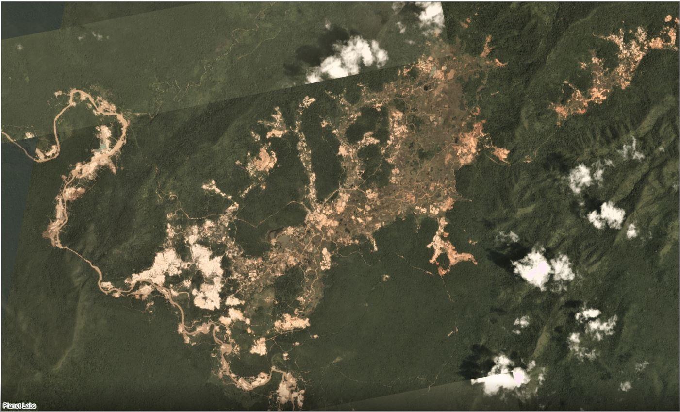 Tierra Indígena Kayapó en enero de 2019