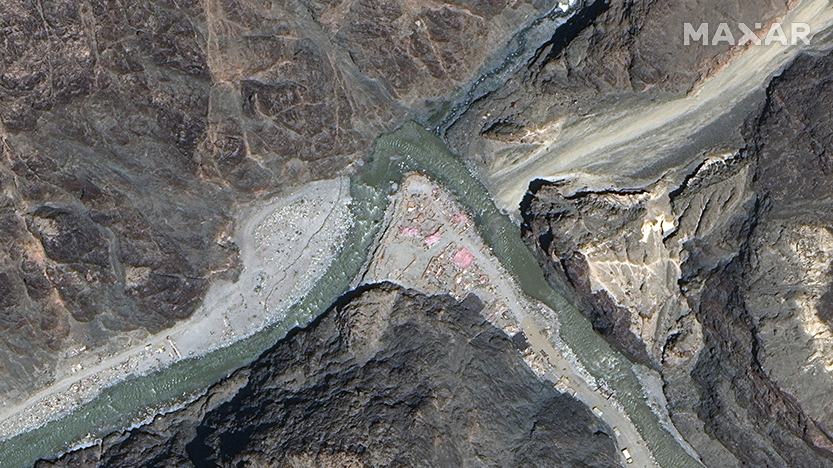 india Galwan river valley in June 2020