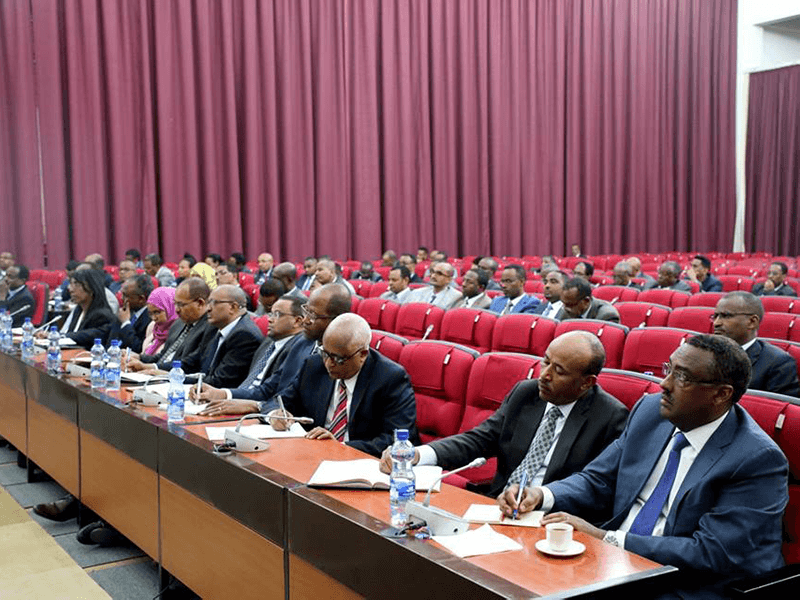Xubnaha golaha fulinta EPRDF oo shir ku jira