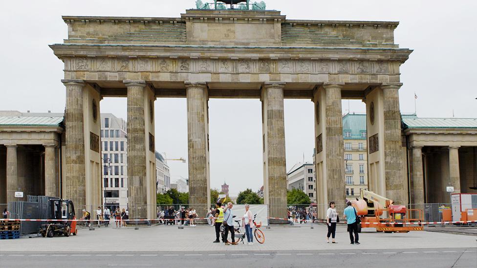 У Бранденбургских ворот в 2019 году