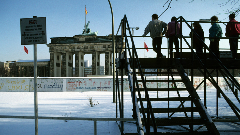 Вид на Бранденбургские ворота
