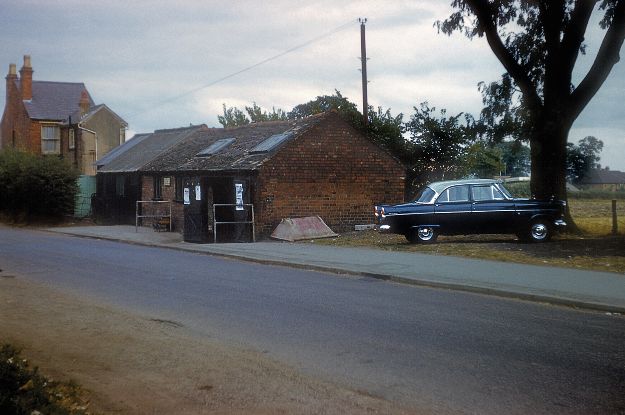 Shoeing Forge, Druids Lane, Alcester Road, 1959