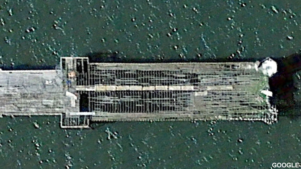 Colwyn Bay pier in 2015