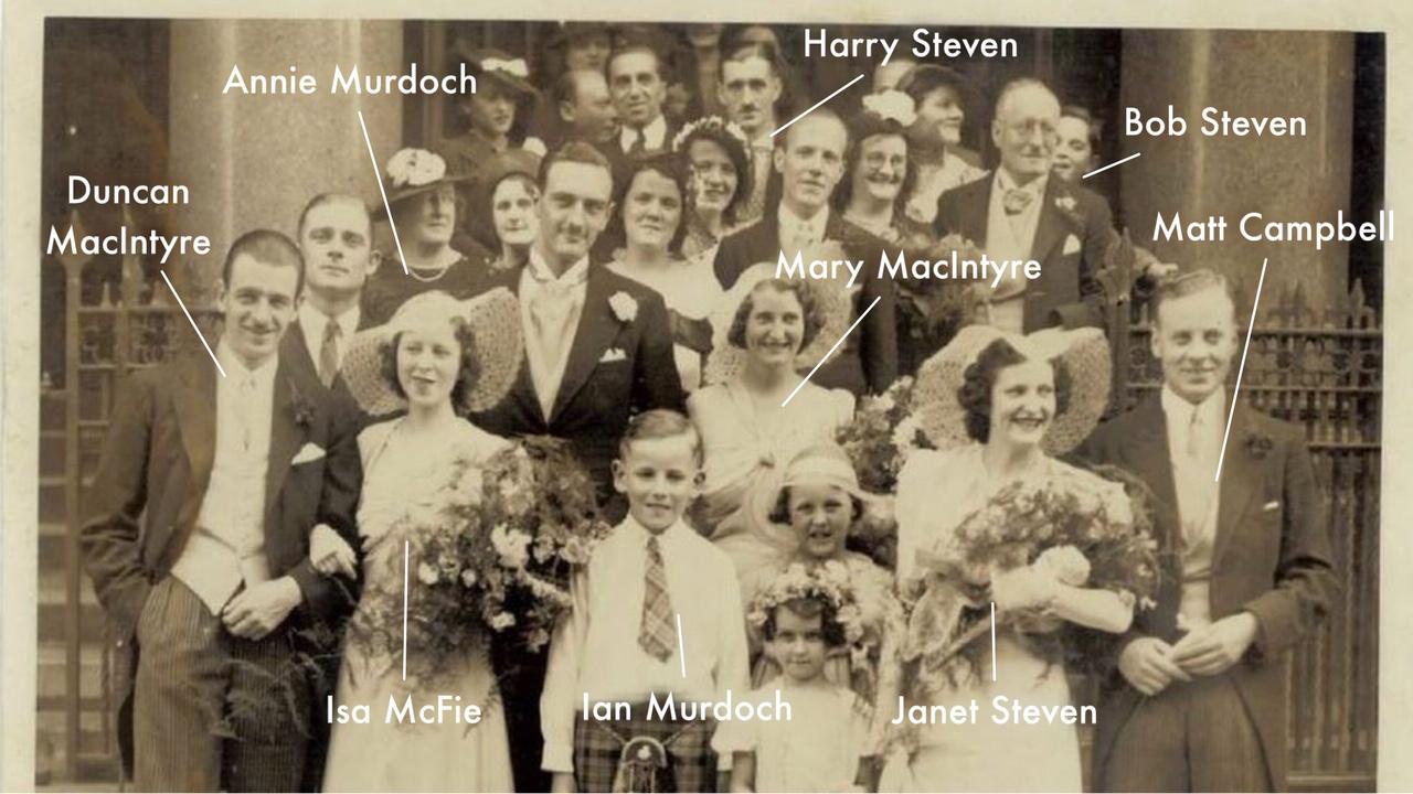 "Euphemia ""Effie"" Shearer's wedding - names revealed"