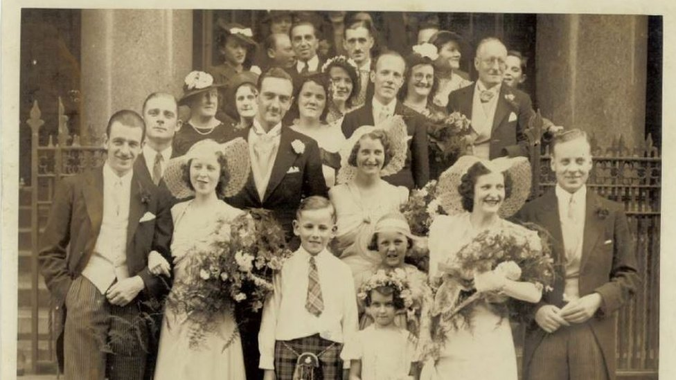 "Euphemia ""Effie"" Shearer's wedding"