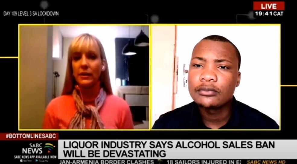 Screengrab of comedian Thandokwakhe Mseleku on SABC TV