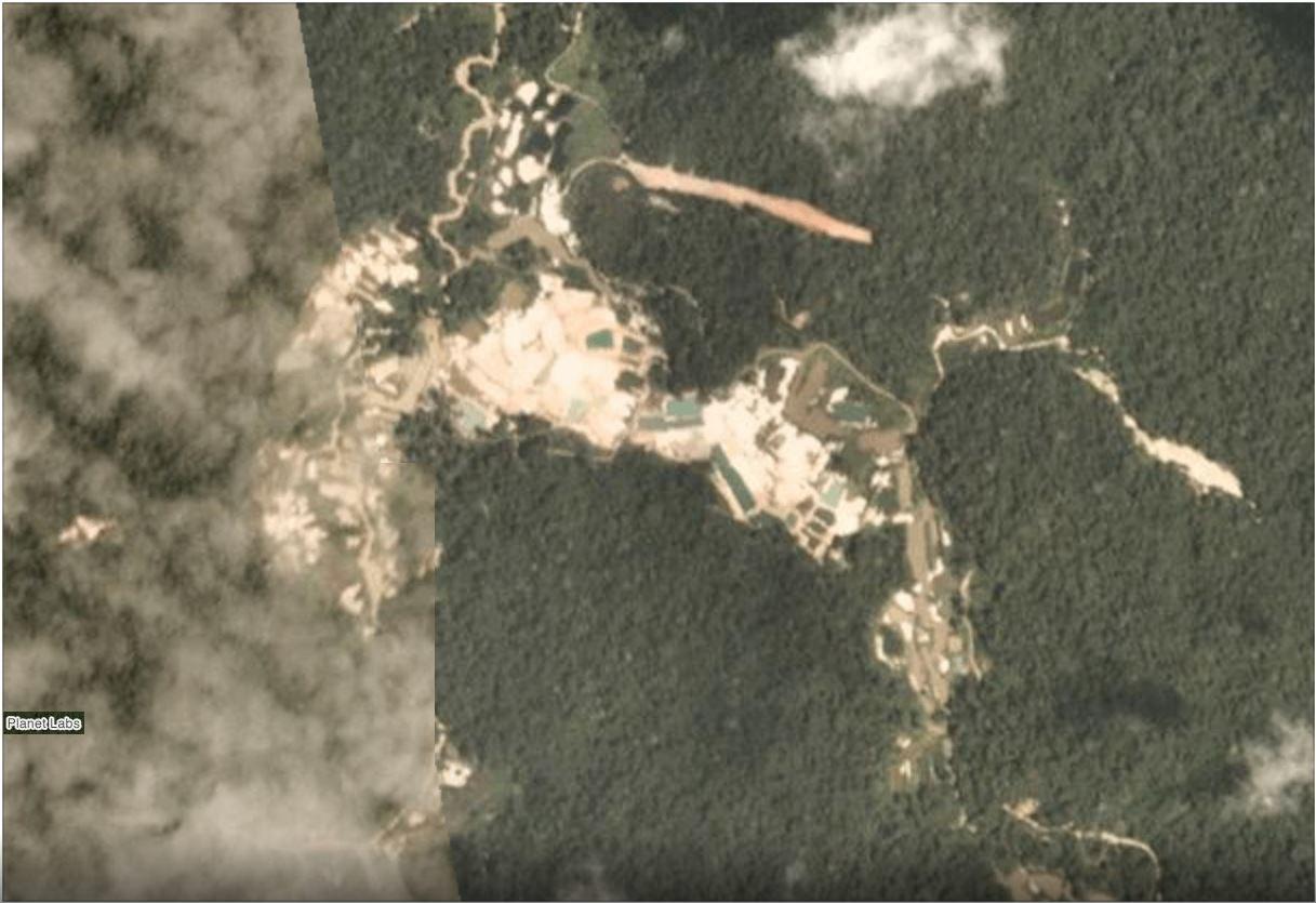 Tierra Indígena Munduruku en Febrero 2019
