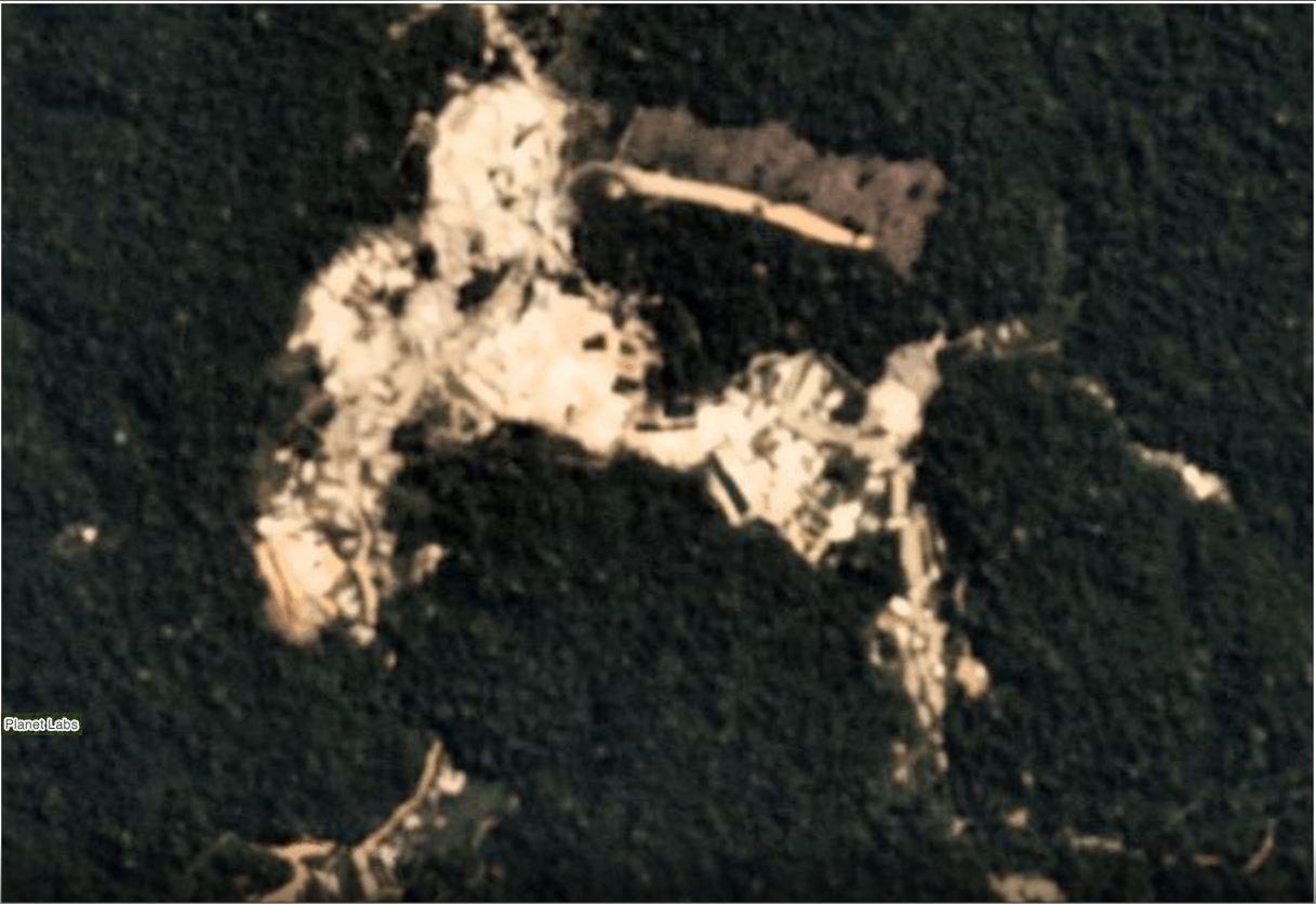 Tierra Indígena Munduruku en Julio 2019