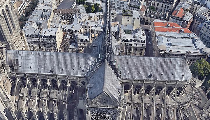 Notre-Dame Katedrali: Yangından önce