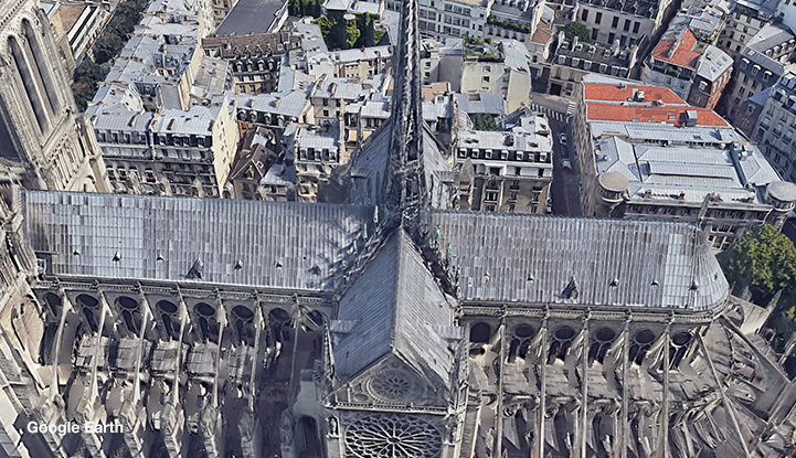 Notre-Dame cathedral before the fire