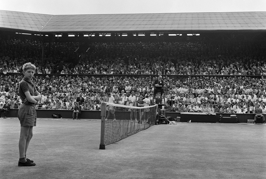 There are over double the number of ball boys and girls than there were in 1968