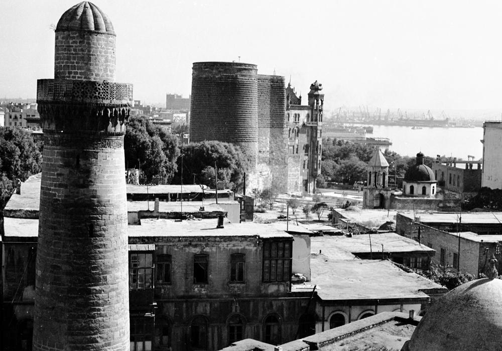 Minarə və Qız qalası - arxiv