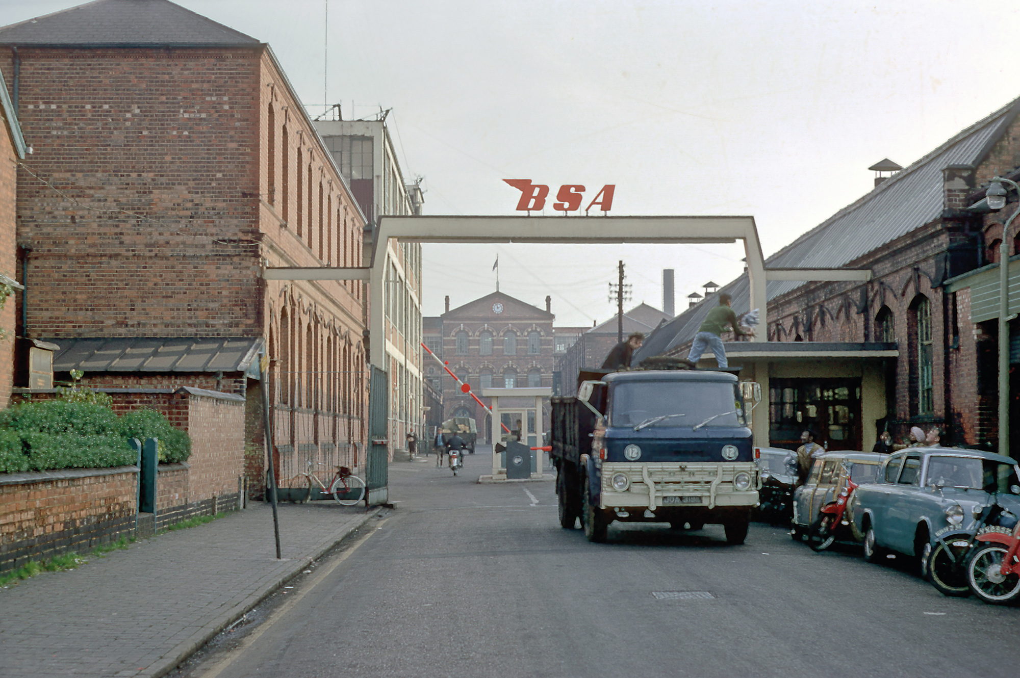 BSA Works, Armoury Road, Small Heath, 1968