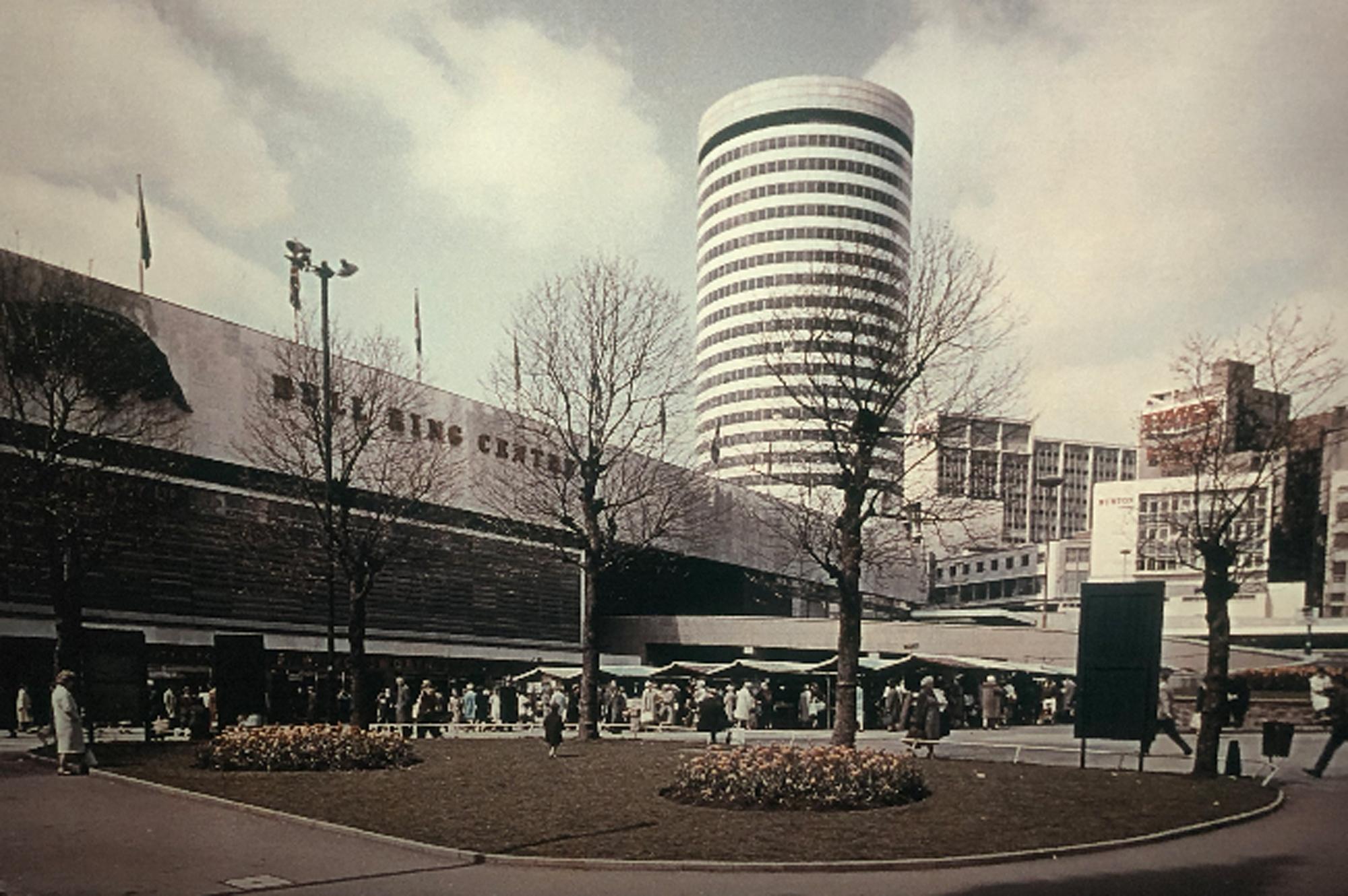 View of the Rotunda and Bullring