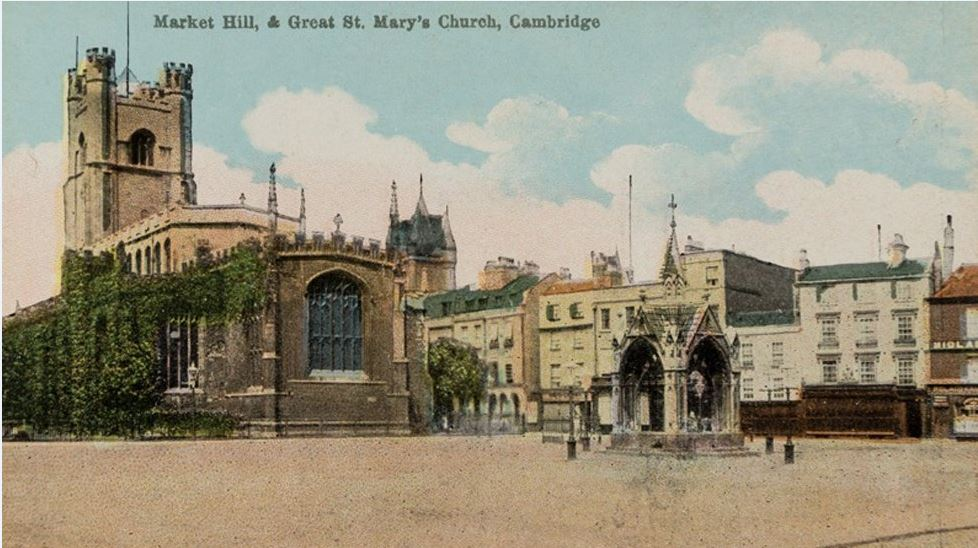 Archive photo of St Mary's Church in Cambridge