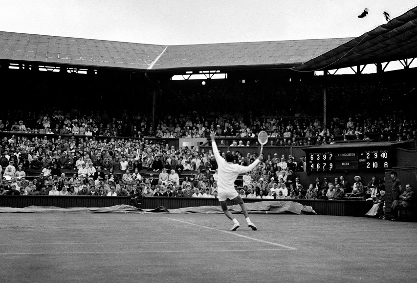 How Centre Court looked in 1968