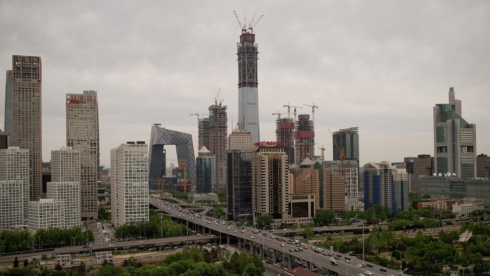 25 Nisan 2017'de Pekin manzarası