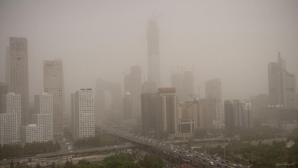 4 Mayıs 2017'de Pekin manzarası