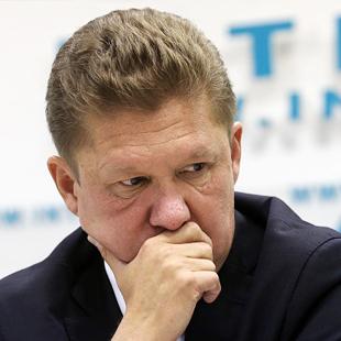 """Про зупинку постачання газу на прес-конференції повідомив керівник """"Газпрому"""" Олексій Міллєр"""