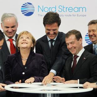 """Урочистий запуск """"Північного потоку"""" за участі лідерів Росії, Німеччини та ЄС"""