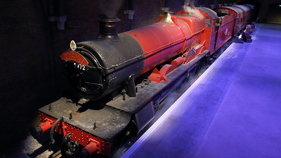 The transformed Hogwarts Express