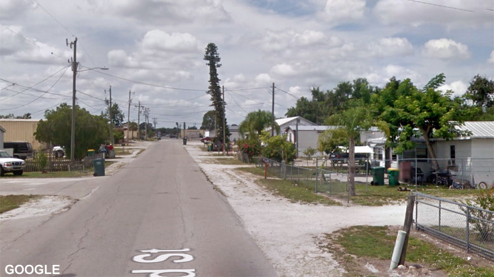 Street View image of Immokalee, Florida