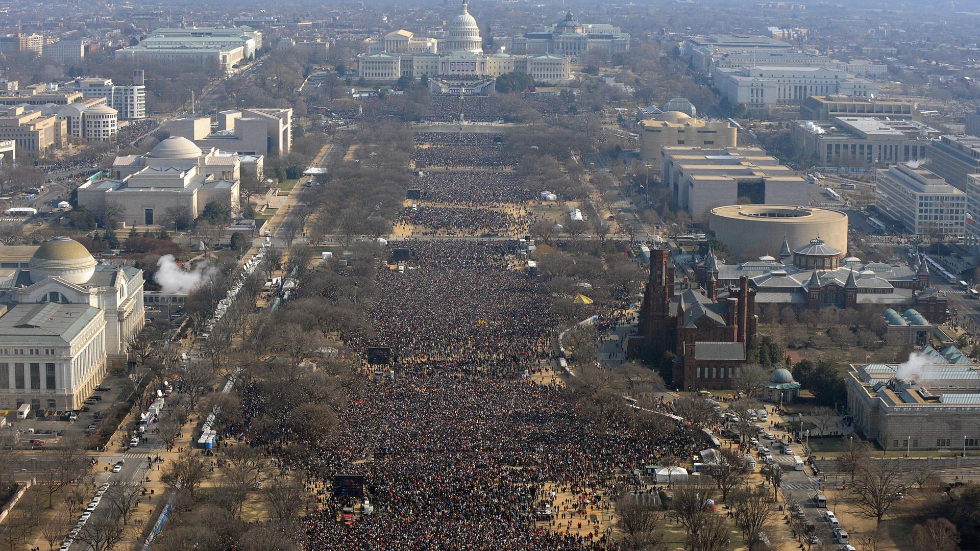 Barack Obama's inauguration 2009