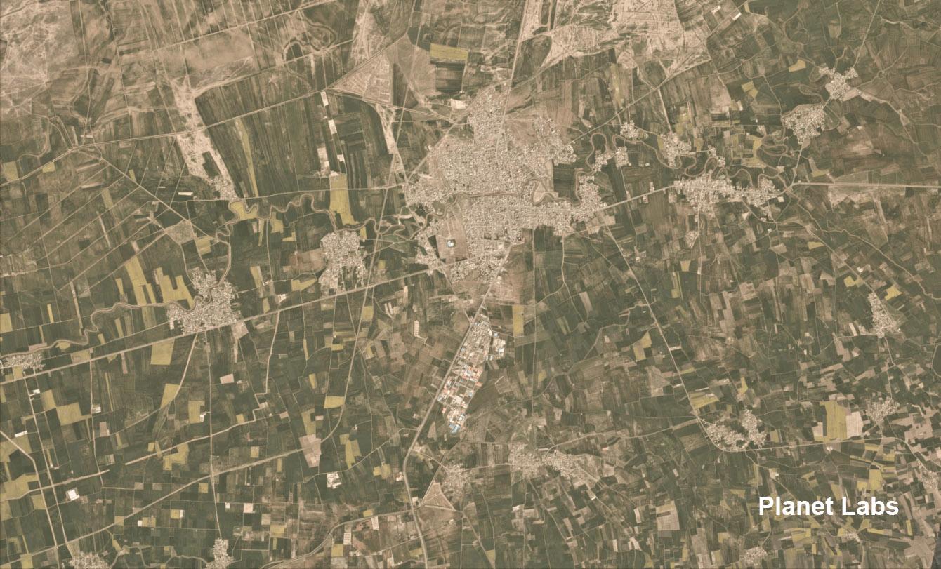 سیل در شهر آققلا در استان گلستان