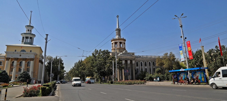 Кыргызстан эл аралык университетинин сырткы көрүнүшү, Бишкек шаары