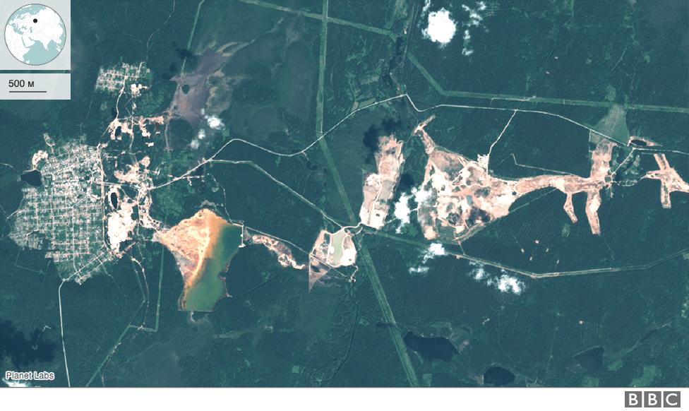 Левихинский рудник в 2020 году