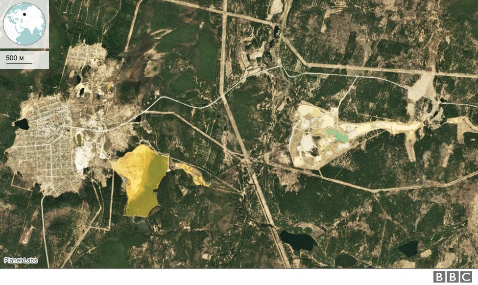 Левихинский рудник в 2015 году