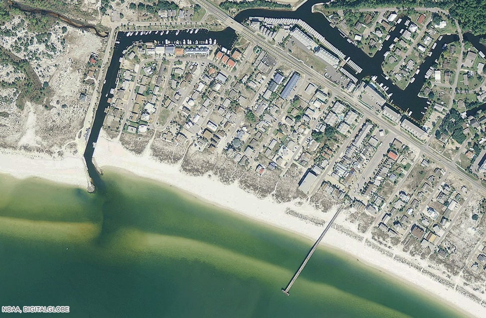 Mexico Beach before Hurricane Michael