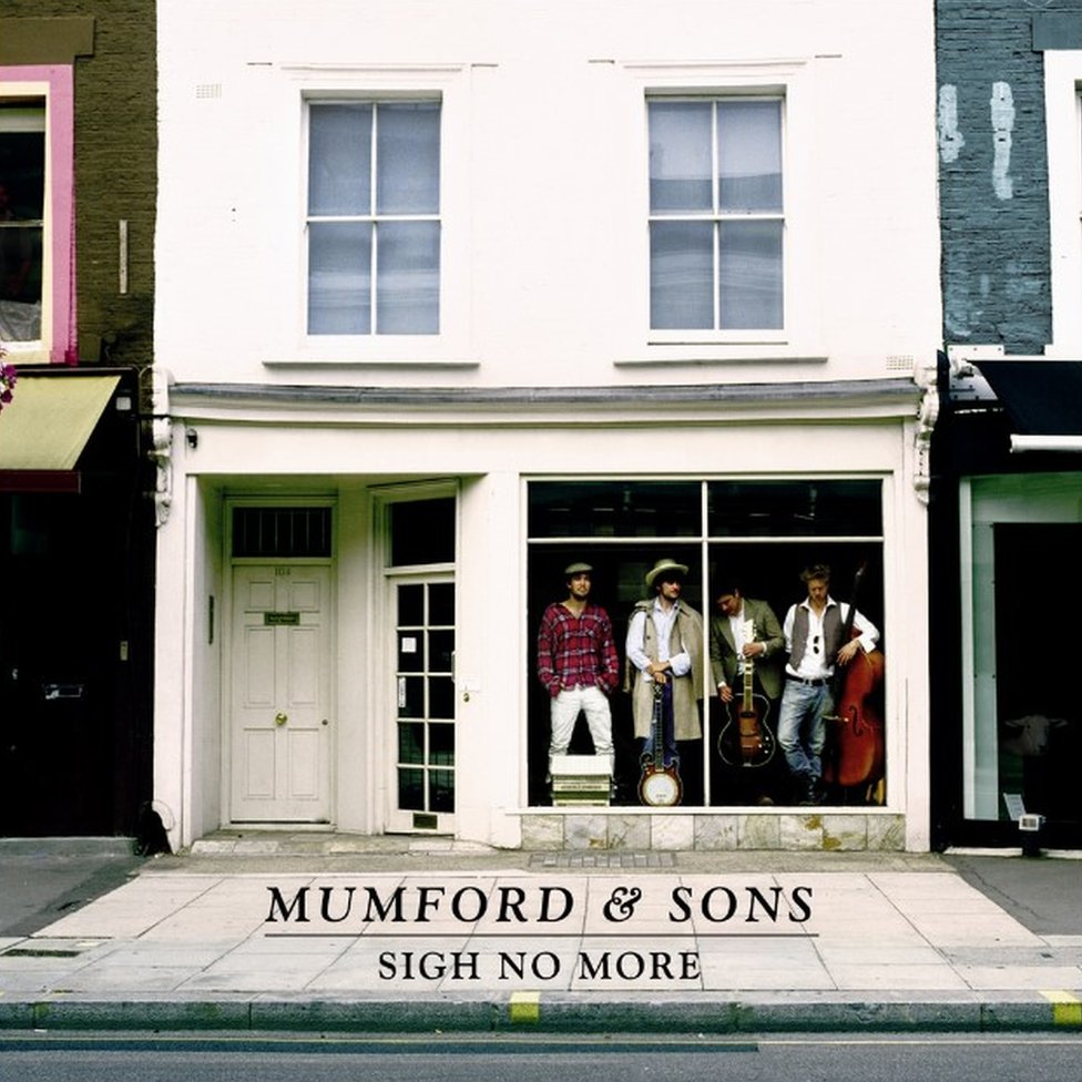 Album cover for Sigh No More by Mumford and Sons