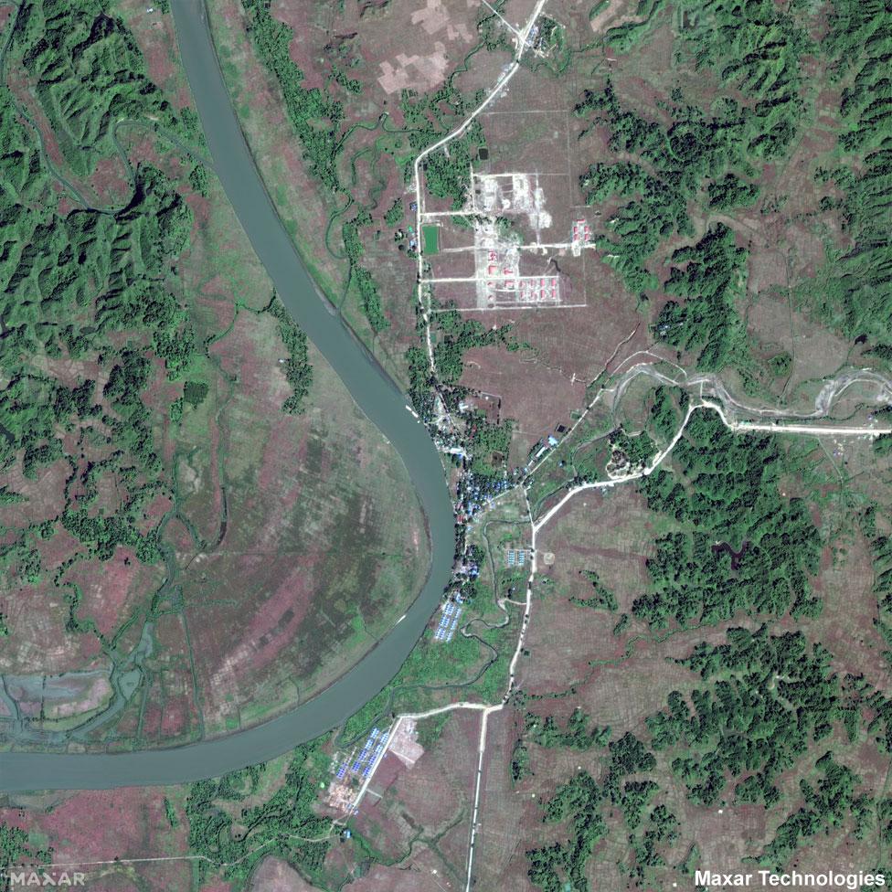 Kyein Chaung relocation camp
